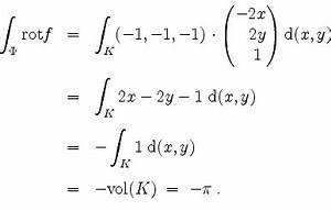 Integrale Berechnen Aufgaben : mathematik online lexikon stokesscher integralsatz ~ Themetempest.com Abrechnung