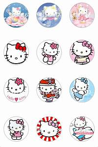 hello kitty printable printables pinterest cupcake With hello kitty cupcake topper template