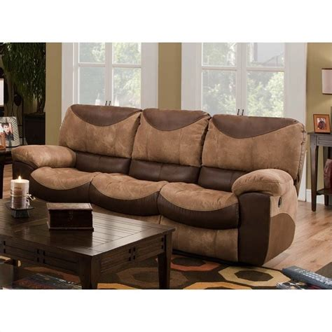 Catnapper Reclining Sofa And Loveseat by Catnapper Portman Reclining Sofa In Saddle And Chocolate