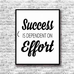 Aliexpress buy success inspiring quotes painting