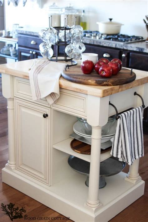 how much are kitchen islands 25 mini kitchen island ideas for small spaces digsdigs 7187