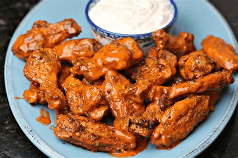 wings buffalo air fryer chicken keto recipe recipes drdavinahseats wing dressing cheese davinah eats dr homemade
