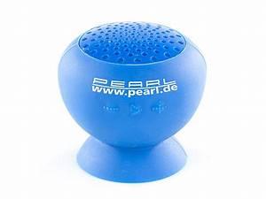 Bluetooth Lautsprecher Badezimmer : pearl aktivlautsprecher mit bluetooth 2 1 f bad outdoor wasserdicht 6 w ~ Markanthonyermac.com Haus und Dekorationen