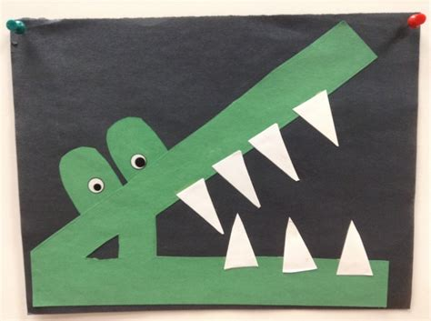alligator craft the letter a crafts and sensory bin 712 | 73c9f904a32703b1d23bd0b4b6a46f95 letter a crafts abc crafts