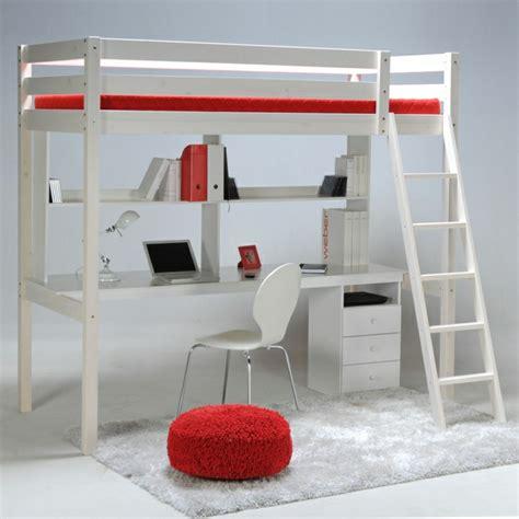 lit superposé avec bureau intégré conforama le lit mezzanine ou le lit supersposé quelle variante
