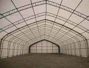 new 40 x 60 x 23 ft double truss storage building p406023p With 40 ft steel truss