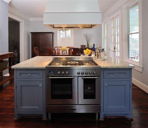 range in island kitchen heights kitchen remodel traditional kitchen houston 4494
