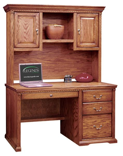 desk with hutch and drawers 48 inch desk with hutch and pencil drawer 7378