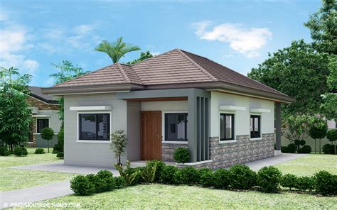Simple 3bedroom Bungalow House Design  Pinoy House