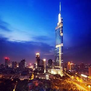 Zifeng Tower, Nanjing, China. | Acute Architecture ...
