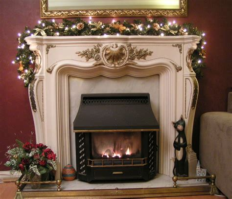 pre lit fireplace garland fireplace garland ideas inspirationseek