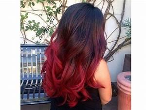 Ombré Hair Rouge : ombr hair avec cheveux rouges 21 photos absolument ~ Melissatoandfro.com Idées de Décoration