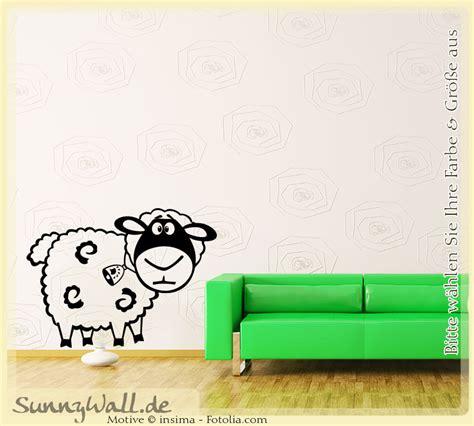 Wandtattoo Kinderzimmer Schafe by Wandtattoo Schaf Sheep Wolle Vers1 Sunnywall Shop