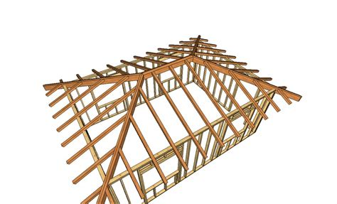 hip roof framing design help with hip roof supports framing contractor talk