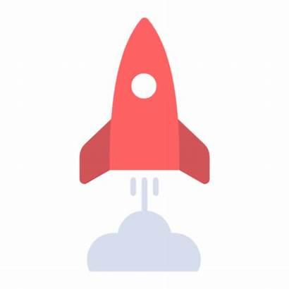Icon Launch Rocket Icons Svg Symbol