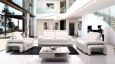 stunning white leather living room furniture home