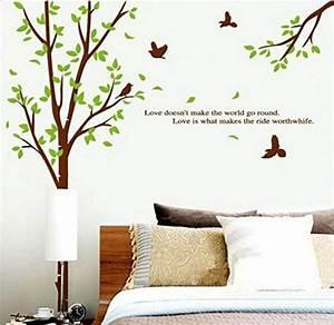 Baum Für Wohnzimmer : sunnicy wandtattoo baum v gel natur landschaft ~ Michelbontemps.com Haus und Dekorationen