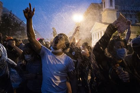 protests calm after wtop america national