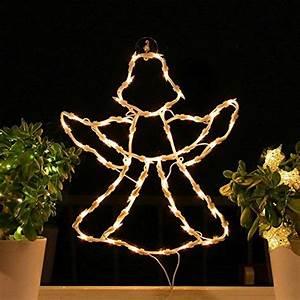 Fensterdeko Zum Aufhängen : fenster silhouette weihnachten weihnachtsdeko fensterbilder beleuchtet weihnachtsbeleuchtung ~ Eleganceandgraceweddings.com Haus und Dekorationen