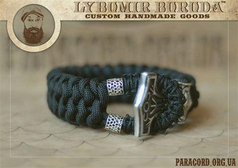 thor 39 s hammer paracord bracelet