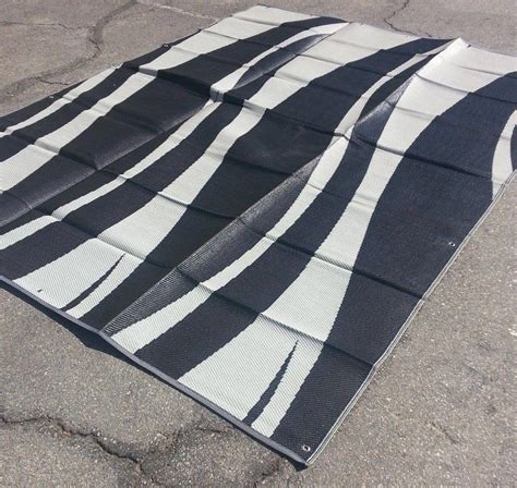 Patio Mats 9x12 Reversible Patio Mat by Rv Patio Awning Mat Reversible Outdoor Rug 9x12 Black