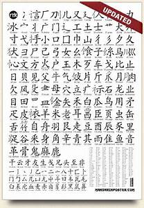 Simplified Chinese Radicals List Version 2