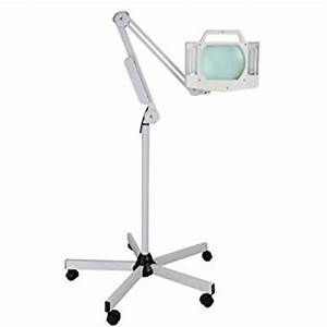 Amazoncom magnifying floor lamp 5x diopter home for Amazon magnifier floor lamp