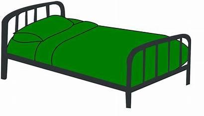 Bed Clipart Clip Cartoon Beds Cliparts Vector