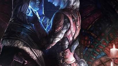 Skyrim Dragonborn Scrolls Elder Daggers Wallpapers Becuo