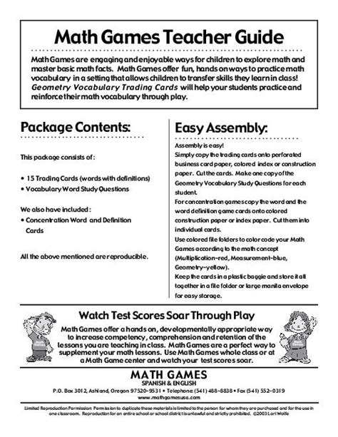 preschool math lesson plan geometry vocabulary worksheet worksheets for all 371