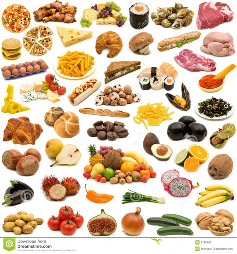 collection cuisine large page of food collection stock photo image of