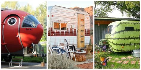 Decorating Ideas Vintage Travel Trailer by Trailers And Airstreams Vintage Trailer