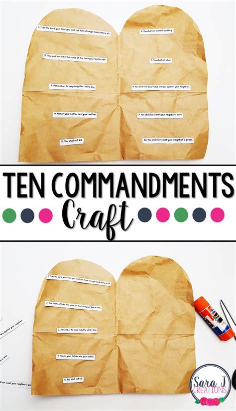 the ten commandments craft j creations 10 | Ten%2BCommandments%2BCraft%2Bpin