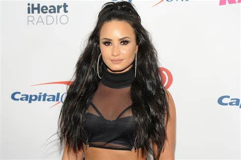 Demi Lovato Spotted Out Rehab With Fashion Designer