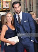 Actor Matthew Del Negro and wife Deirdre Whelan attend the ...