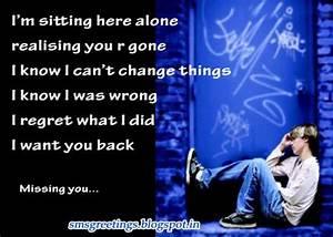 Sad Quotes About Missing Someone. QuotesGram