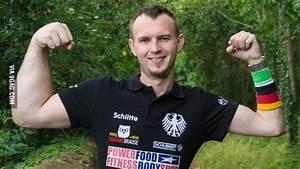 German Arm-wrestling Champion