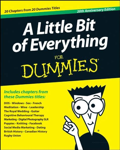 For Dummies by A Bit Of Everything For Dummies Wiley Sons