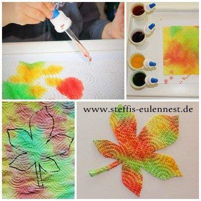 Herbstdeko Fenster Basteln Mit Kindern by Herbstdeko Basteln Mit Kindern Ber 1000 Ideen Zu