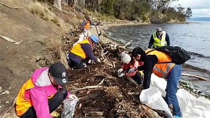 Debris Clean Marine Huon Bruny Island Join