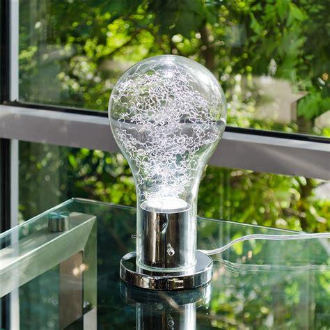giant light bulb table l bulb shaped led table l be fabulous