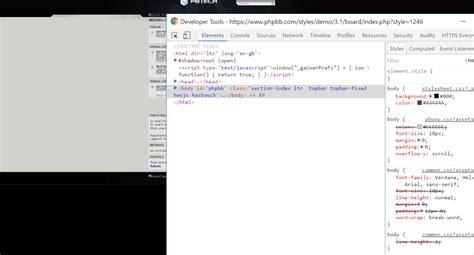 css black background color  html element stack