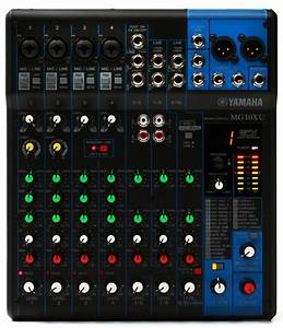 Yamaha MG10XU Mixer With USB And FX Sweetwater