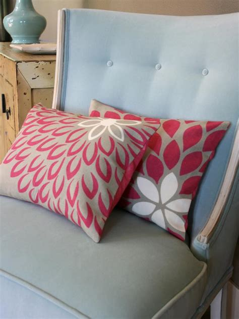 how to sew a pillow easy to sew pillows hgtv