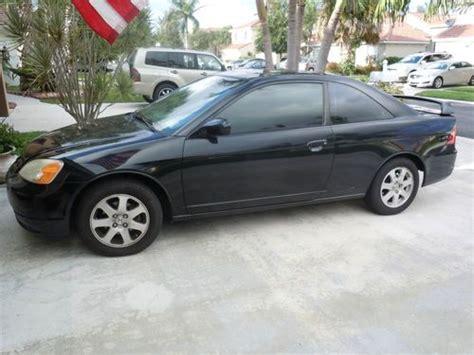 buy car manuals 2003 honda civic user handbook buy used 2003 honda civic ex coupe 2 door 1 7l manual transmission in lake worth florida