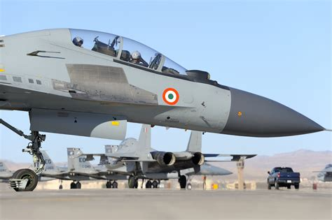 Visuals Of The IAF's Flankers Like You've Never Seen ...