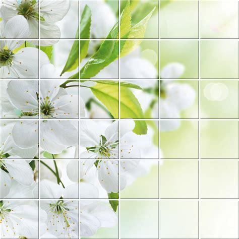 adesivi fiori adesivi follia adesivo per piastrelle fiori