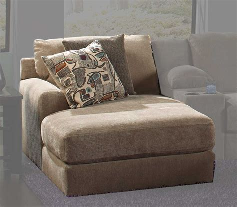 chaises taupe jackson malibu large chaise sectional with ottoman 3239