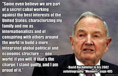 Illuminati Rockefeller by David Rockefeller Nwo Quotes Quotesgram