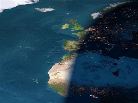 Circolo Di Illuminazione Della Terra by Moto Di Rotazione